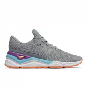 New Balance X-90 Women's Sport Style Shoes - Grey (WSX90CLF)