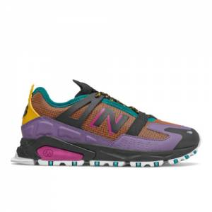 New Balance XRCT Women's Sport Style Shoes - Purple / Orange (WSXRCTXC)