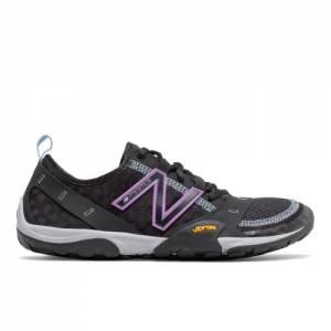 New Balance Minimus Trail 10v1 Women's Trail Running Shoes - Black (WT10BV)