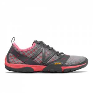New Balance Minimus Trail 10 Women's Trail Running Shoes - Grey / Pink (WT10TG)