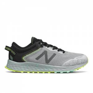 New Balance Fresh Foam Arishi Trail Women's Trail Running Shoes - Grey / Black (WTARISS1)