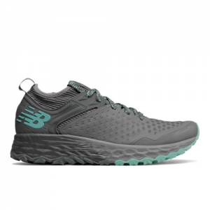 New Balance Fresh Foam Hierro v4 Women's Trail Running Shoes - Grey (WTHIERC4)