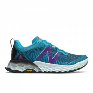 New Balance Fresh Foam Hierro v6 Women's Trail Running Shoes - Blue (WTHIERV6)