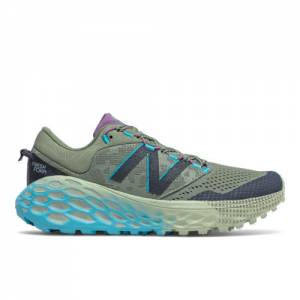 New Balance Fresh Foam More Trail v1 Women's Shoes - Green (WTMORCV)