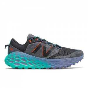 New Balance Fresh Foam More Trail v1 Women's Trail Running Shoes - Grey / Blue (WTMORGG)