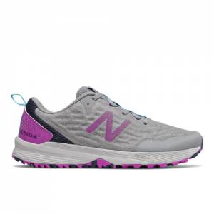 New Balance NITREL v3 Women's Running Shoes - Grey / Purple (WTNTRCV3)