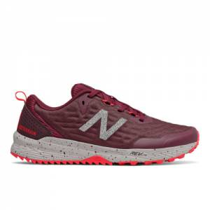 New Balance Nitrel v3 Women's Trail Running Shoes - Dark Red (WTNTRLS3)