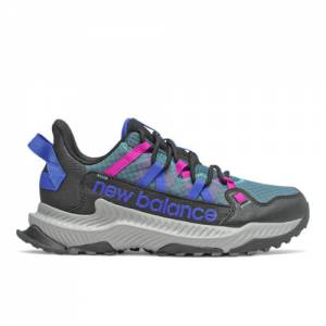 New Balance Shando Women's Trail Running Shoes - Black / Blue (WTSHALB)