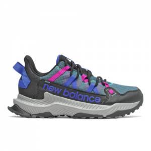 New Balance Shando Women's Trail Running Shoes - Black / Blue (WTSHALB)