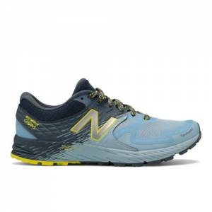New Balance Summit Q.O.M Women's Trail Running Shoes - Blue (WTSKOMLB)