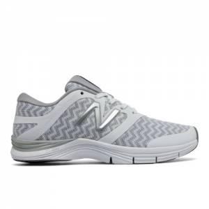 New Balance 711v2 Graphic Trainer Women's Cross-Training Shoes - White / Silver (WX711OG2)