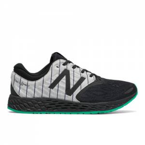 New Balance Fresh Foam Zante v3 Bronx Women's Soft and Cushioned Shoes - Black / Green (WZANTBX3)