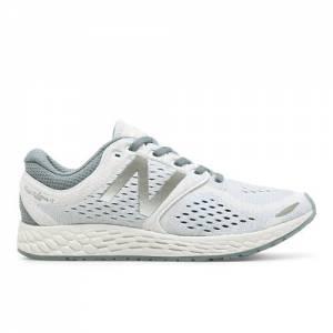 New Balance Fresh Foam Zante v3 Breathe Women's Soft and Cushioned Shoes - White / Reflection Blue (WZANTHW3)