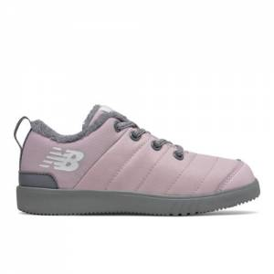 New Balance CRVN MOC Kids Shoes - Pink / Grey (YHMOCLPG)