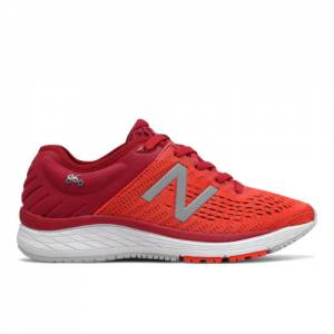 New Balance 860v10 Kids Running Shoes - Red (YP860CN)