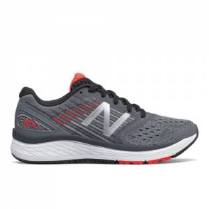 New Balance 860v9 Kids Grade School Running Shoes - Grey (YP860GR)