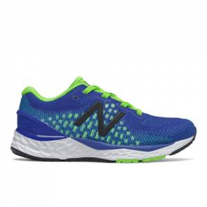 New Balance Fresh Foam 880v10 Kids Running Shoes - Blue / Green (YP880H10)