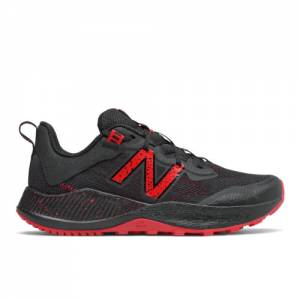 New Balance Nitrel v4 Kids Running Shoes - Black / Red (YPNTRLB)