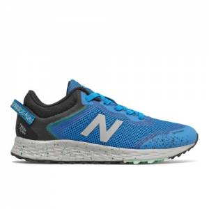 New Balance Fresh Foam Arishi Trail Kids Running Shoes - Blue (YPTARIN1)