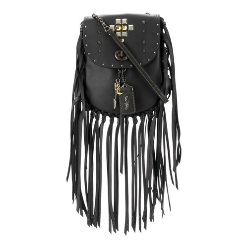 "Coach Crossbody Bag ""Studded Fringe"""