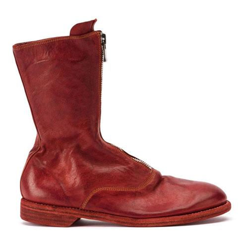 """Guidi Women's Boots """"Red 310"""""""