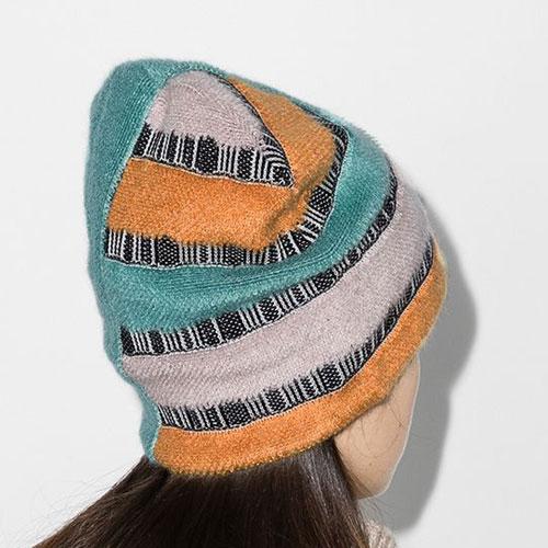 Missoni Striped Knit Beanie Hat