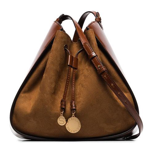 "Stella McCartney Bucket Bag ""Cognac"""