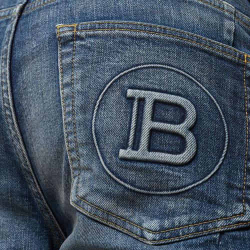 """Balmain Men's Jeans """"Slim-Fit Biker"""""""