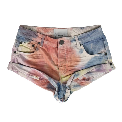 "OneTeaspoon Denim Shorts ""Rainbow Bandits"""