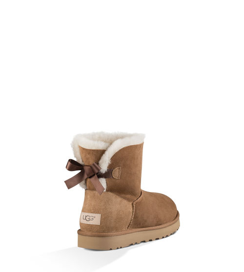 UGG Women's Mini Bailey Bow II Boot Sheepskin