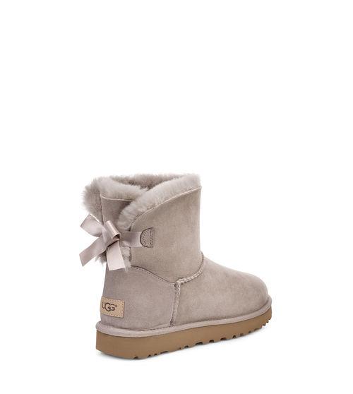 UGG Women's Mini Bailey Bow II Boot Wool Blend