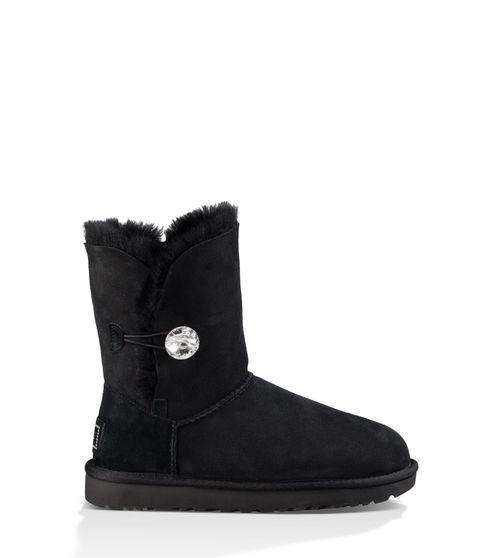 UGG Women's Bailey Button Bling Boot Sheepskin