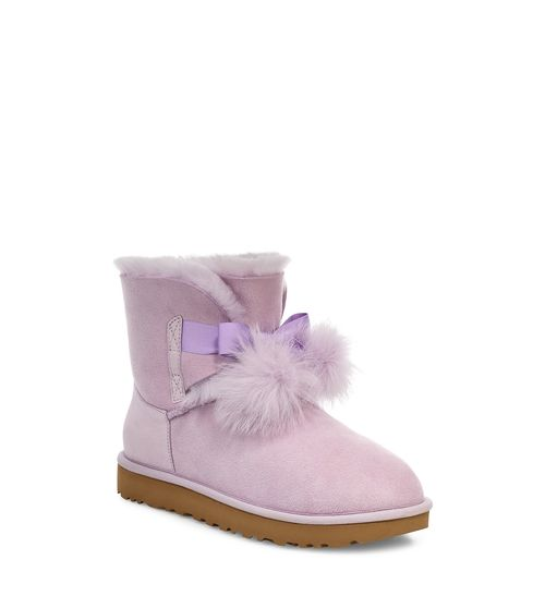 UGG Women's Gita Water-Resistant Boots With Poms