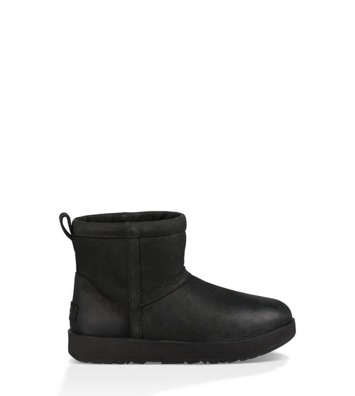 UGG Women's Classic Mini Leather Waterproof Boot