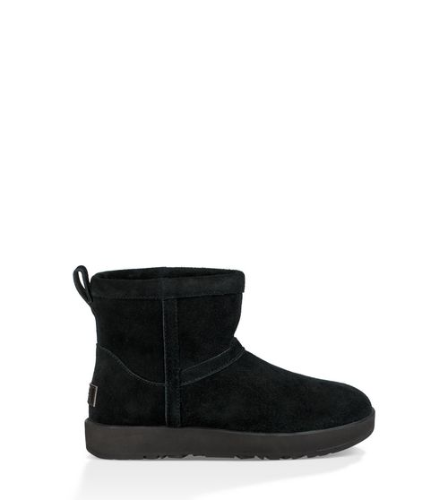 UGG Women's Classic Mini Waterproof Boot Suede