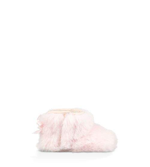 UGG Infants' Jesse Bow II Fluff Bootie Cotton Blend
