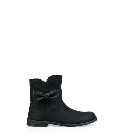 UGG Kids' Joanie Bow Boot Leather