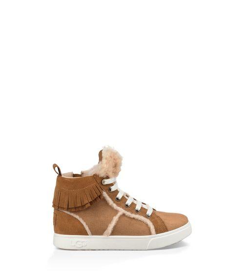 UGG Kids' Darlala Sneaker Suede