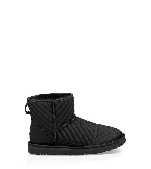 UGG Women's Classic Mini Quilted Satin Boot Cotton Blend