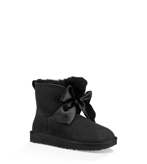UGG Women's Gita Bow Mini Boot Sheepskin