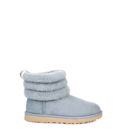 UGG Women's Classic Mini Fluff Quilted Boot Suede