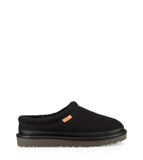 UGG Men's Tasman All Black Slipper Wool Blend