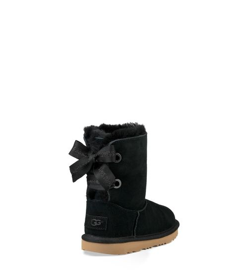 UGG Kids' Customizable Bailey Bow II Boot Sheepskin