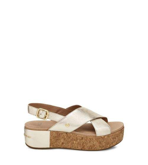 UGG Women's Shoshana Metallic Sandal Leather