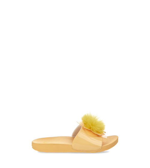 UGG Kids' Cactus Flower Slide Leather
