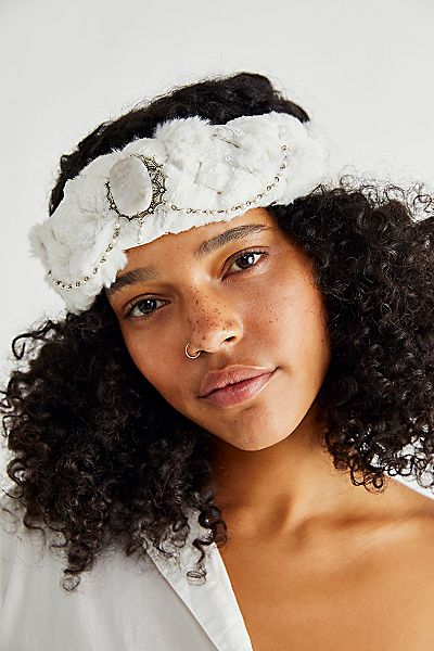 """Curried Myrrh Braided Headband """"Willa"""""""