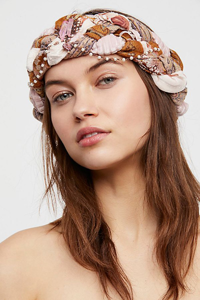Curried Myrrh Willa Braided Turban