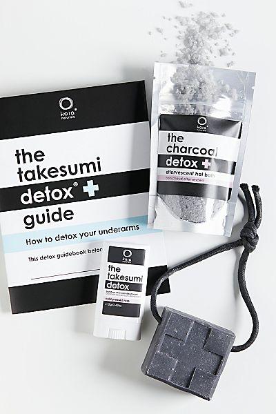 Kaia Naturals Takesumi Detox Kit