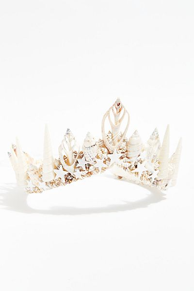 "Wild & Free Jewelry Tiara Crown ""Aurora Mermaid"""