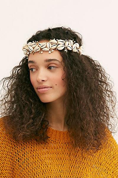 """Free People Seashell Hair Crown """"Dreamer Mermaid"""""""